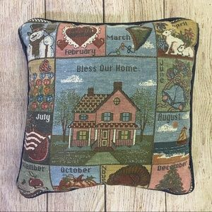 3/$25 Bless Our Home 12 Month Accent Pillow